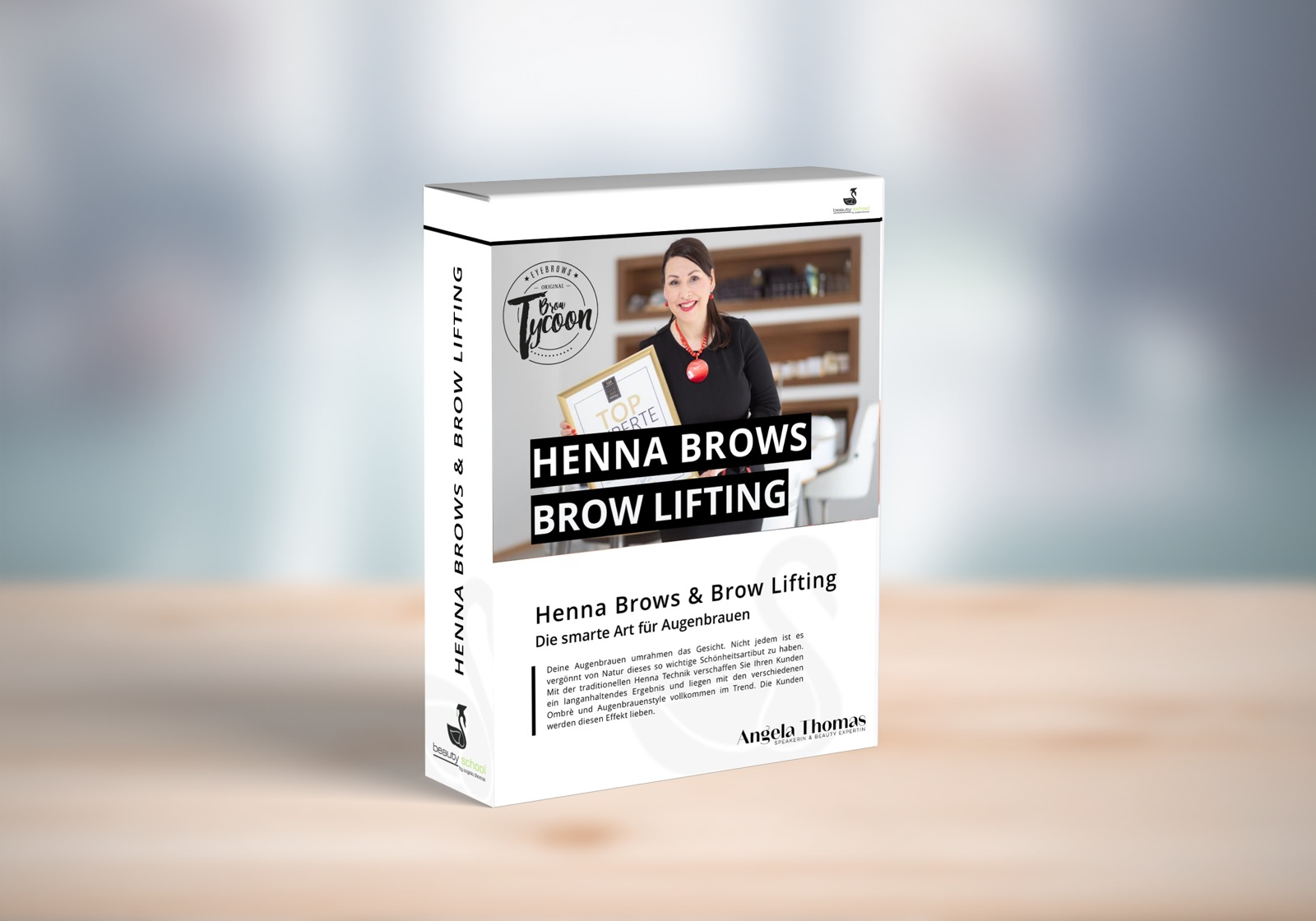 HENNA BROWS UND BROW LIFTING ONLINEKURS