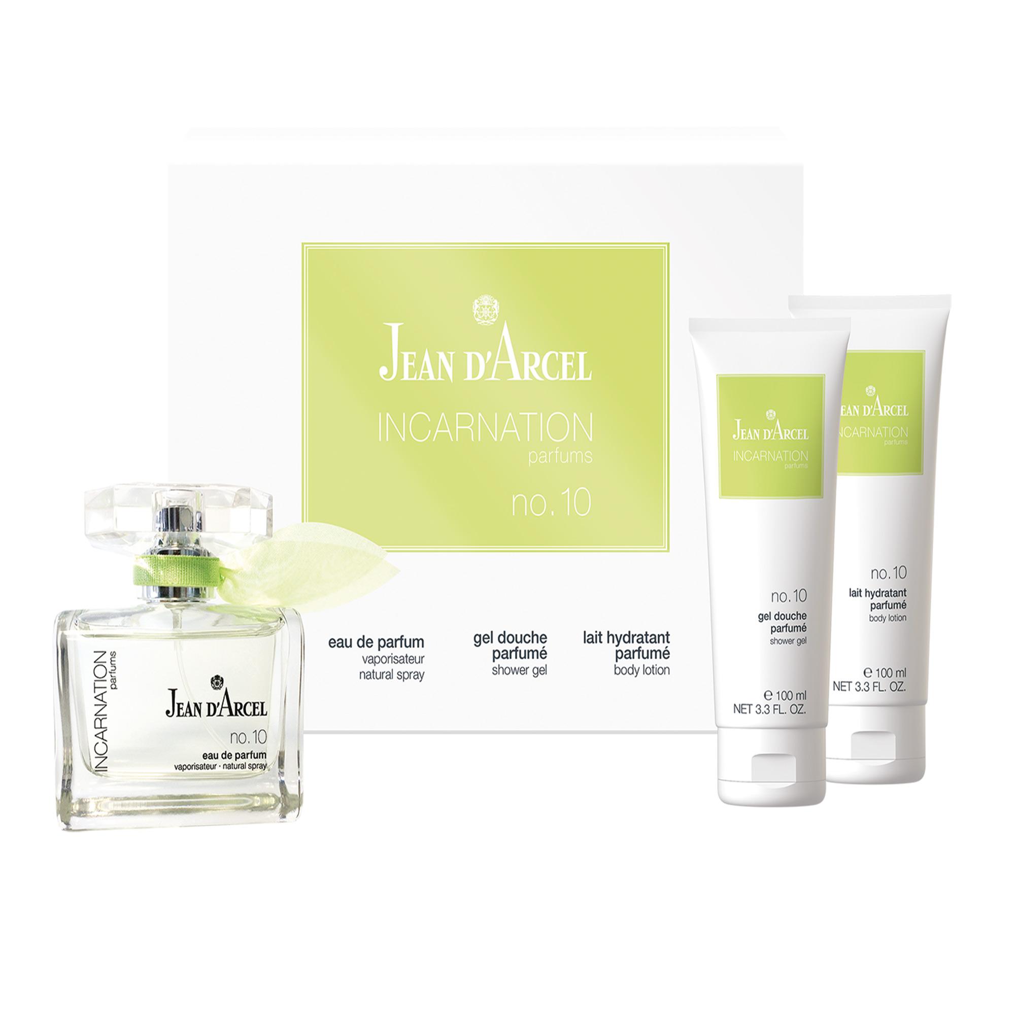 Jean D'Arcel INCARNATION parfums Nr. 10 Set