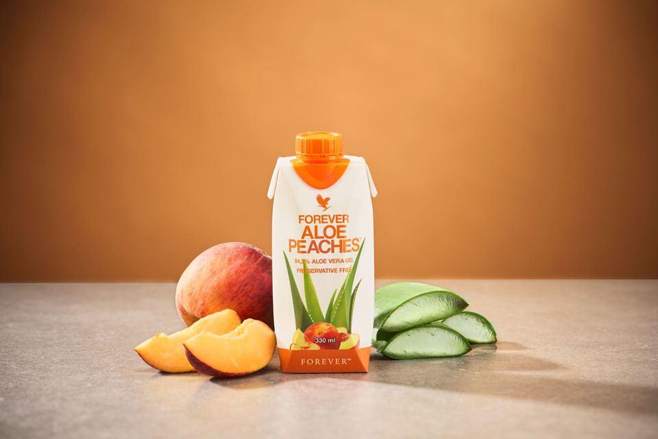 Forever Aloe Peaches 330ml