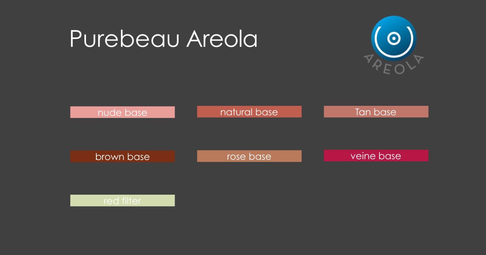 Areola Farben