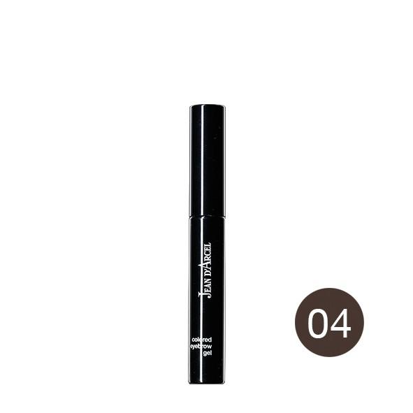Colored eye brow gel no. 4 dark brown