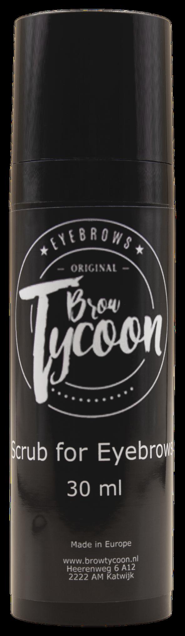 BrowTycoon® Augenbrauen Scrub
